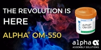 Alpha推出革命性的低温焊膏以解决高组件翘曲问题