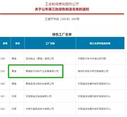 """诺德股份旗下子公司获评""""国家级绿色工厂"""""""