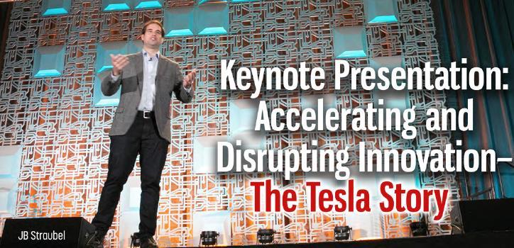 主题演讲:加速和颠覆性创新——特斯拉的故事