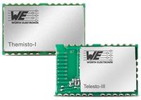 伍尔特电子推出Themisto-I 915 MHz无线电模块  专有长距离连接