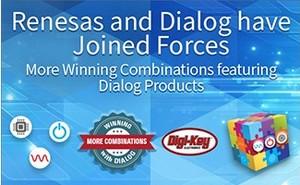 随着公司合并的完成,Digi-Key Electronics 推进分销来自 Renesas 和 Dialog 的致胜产品组合
